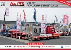 ES-GE Firmenbroschüre 05/2014