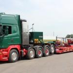 Scania-5-Achs-Sattelzugmaschine-Faymonville-Tiefbett-Kahl-Schwerlast-Moers-titel 5-axled-truck-tractor-scania-kahl