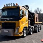 bauma Volvo FH 540 8×4 mit MKG HLK 801 HP