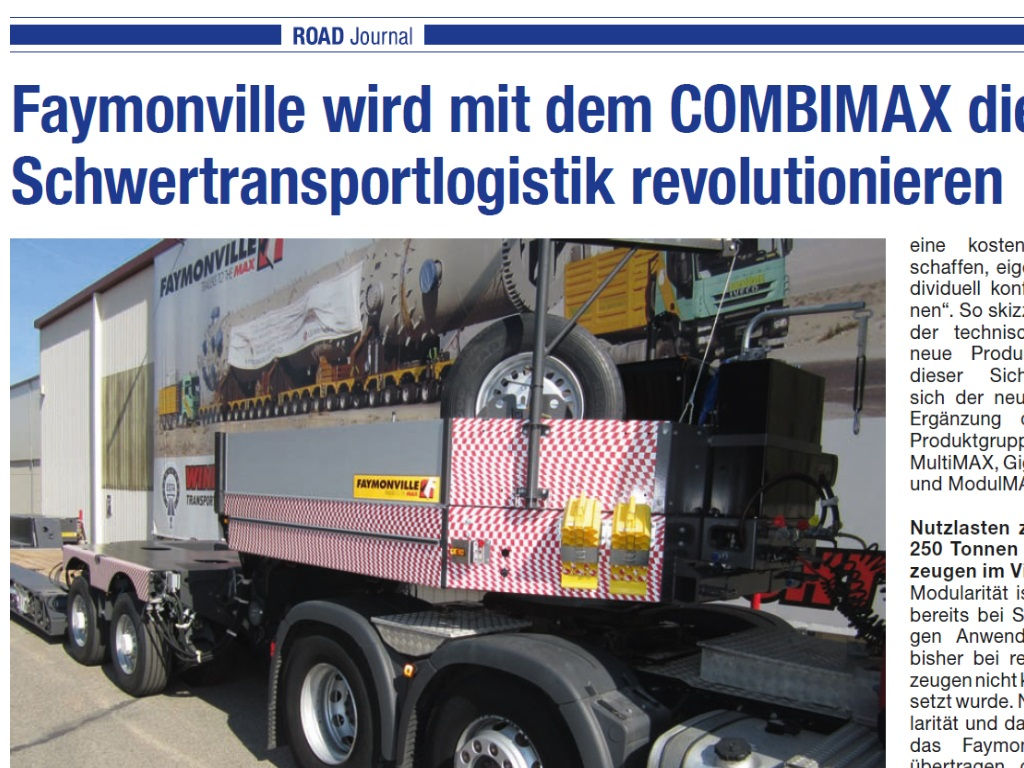 Bericht Road Journal April 2014 Combimax