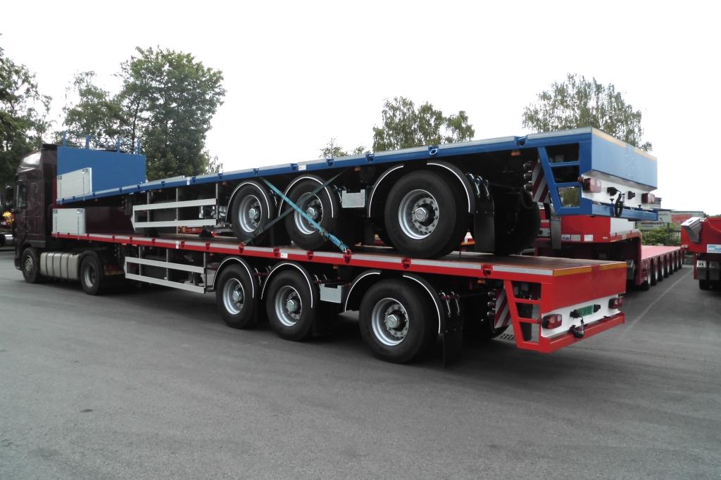 IAA-Nutzfahrzeuge 2016 ES-GE 3-Achs-Sattelauflieger Leichtbauweise