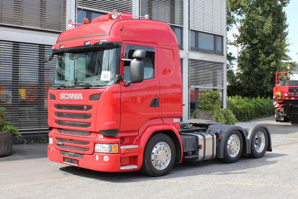 IAA-Nutzfahrzeuge 2016 Scania 6x2 Lowliner