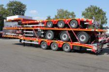MAX-TRAILER-dreierpack-Plateau-Auflieger-Satteltieflader-Megatrailer