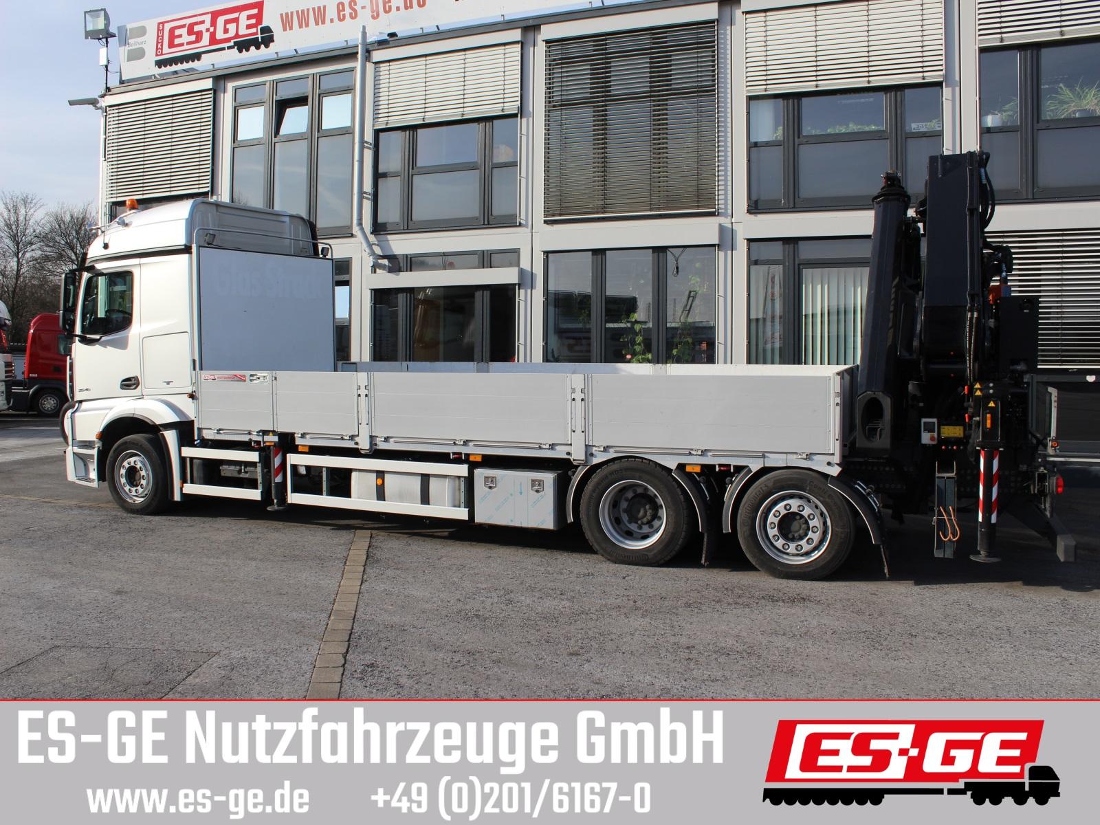 Mercedes-Benz 2546 6X2 ACTROS  mit MKG-Ladekran HLK531 a5