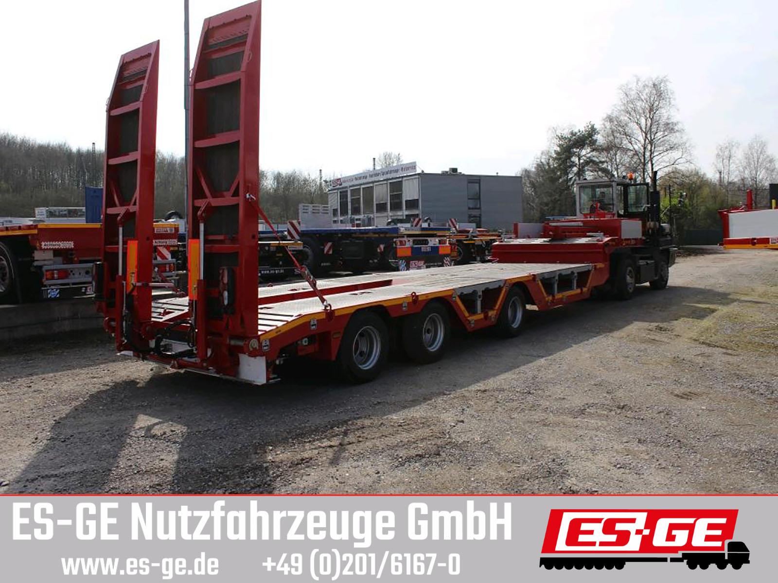 ES-GE 3-Achs-Satteltieflader - Radmulden