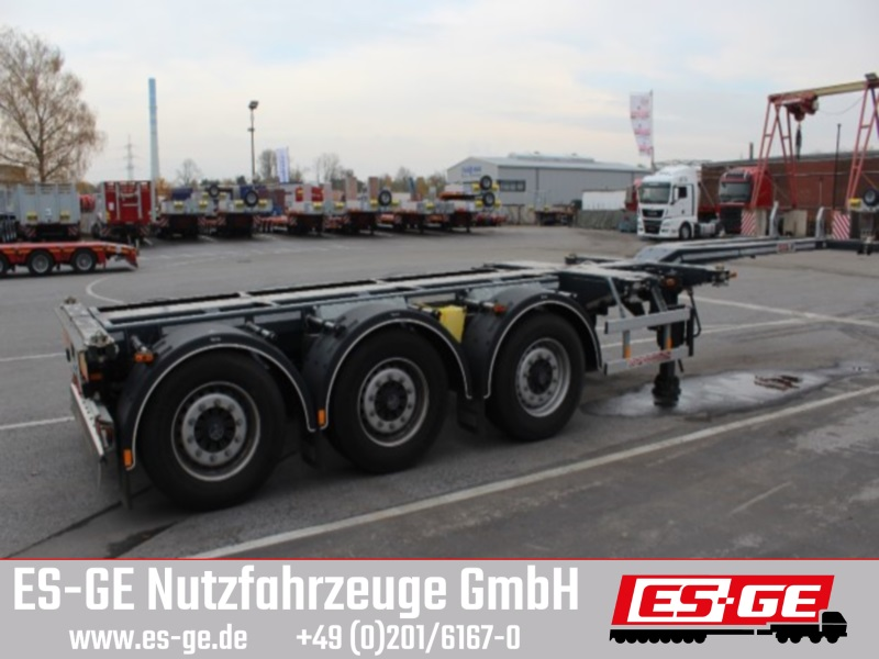D-TEC 3-Achs-Containerchassis