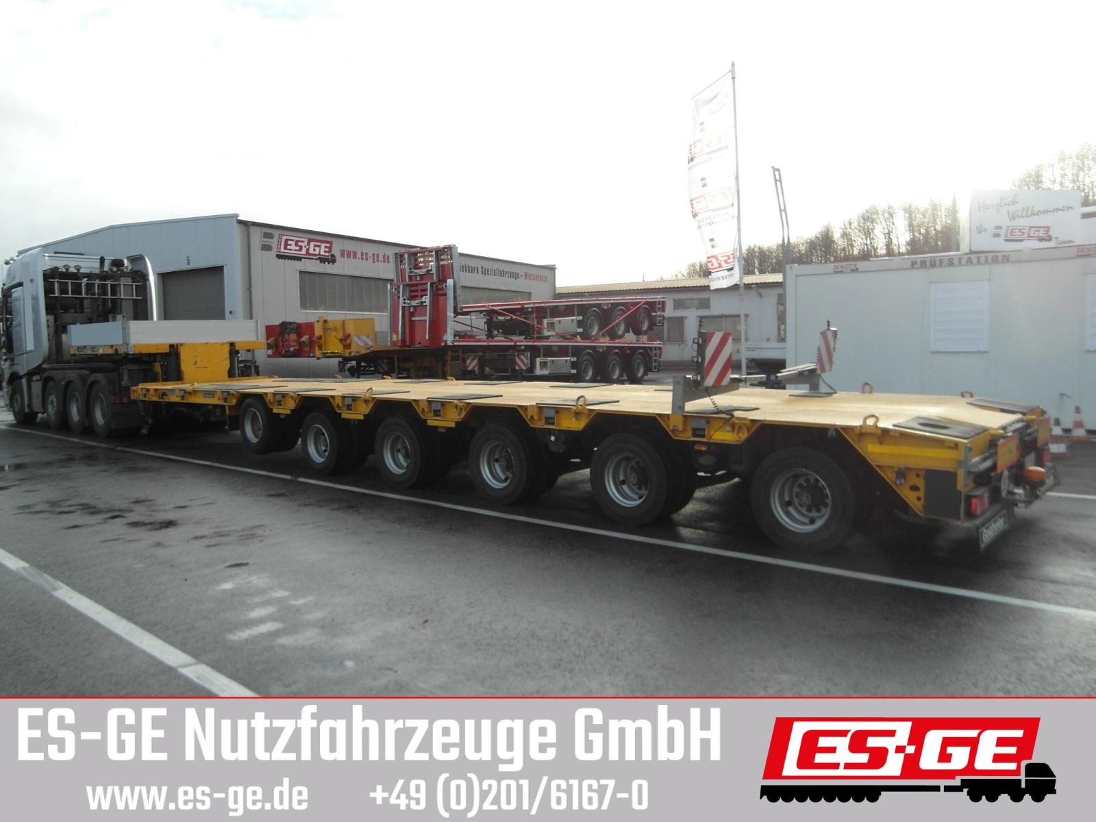 Goldhofer 6-Achs-Satteltieflader