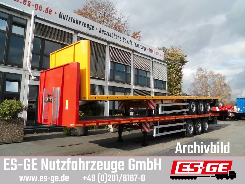 ES-GE 3-Achs-Sattelauflieger mit Rungen