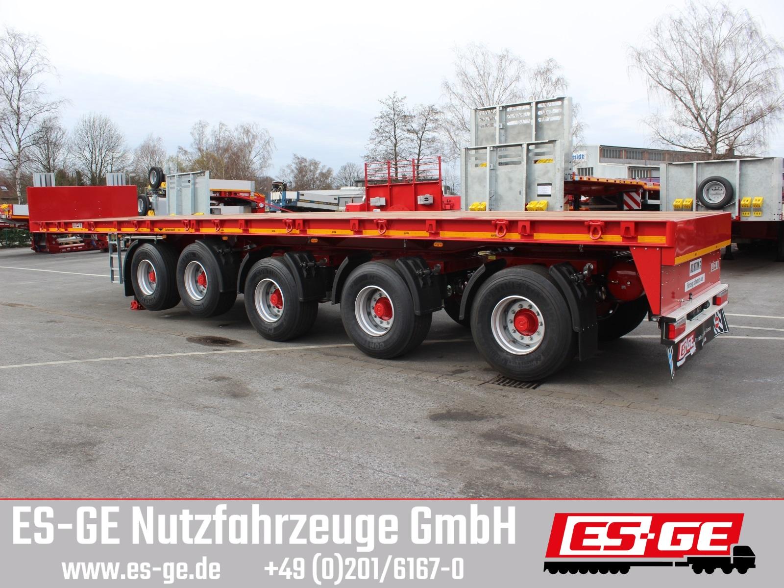 ES-GE 5-Achs-Ballastauflieger
