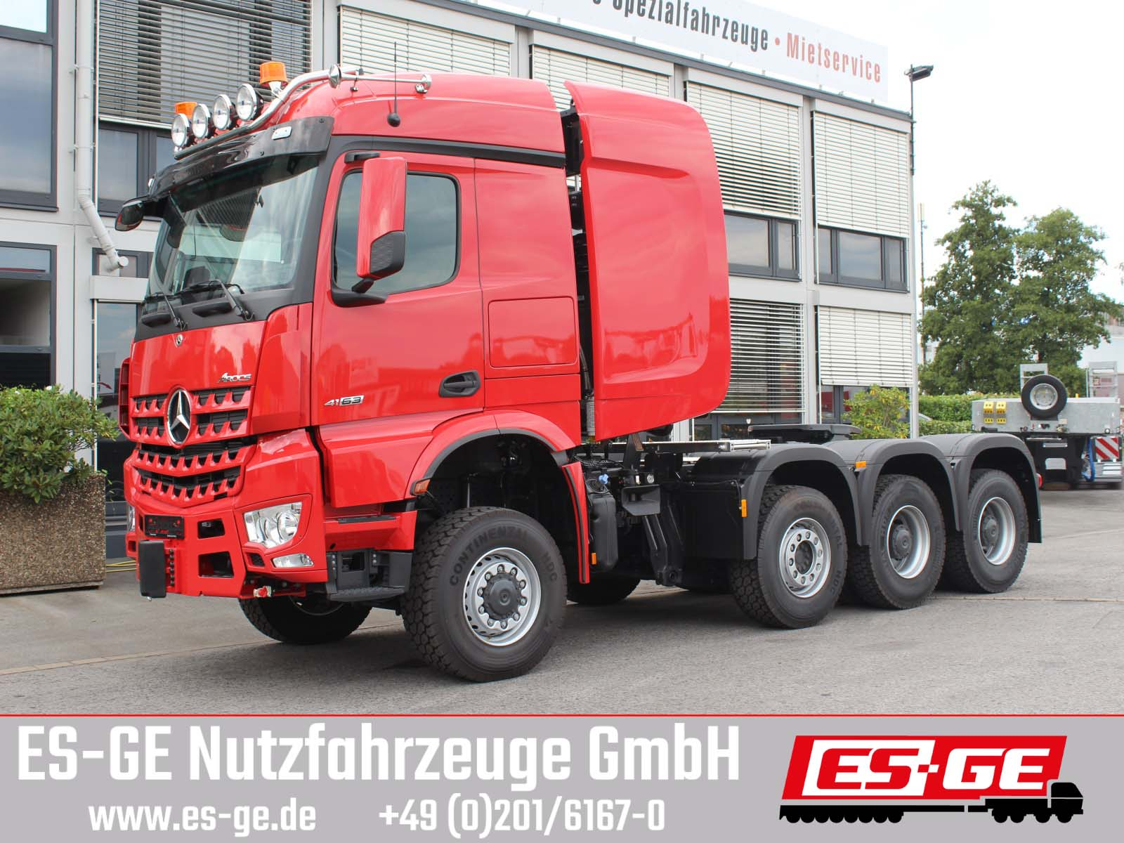 Mercedes-Benz 4163 AS 8x6 Arocs