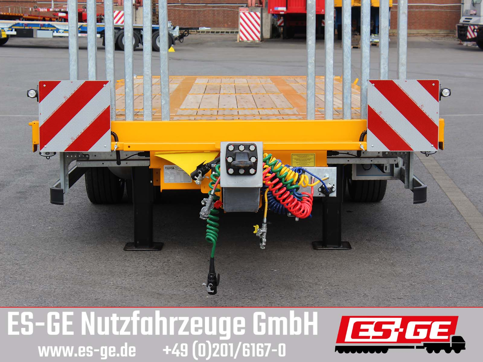 ES-GE ES-GE Tandemanhänger - Containerverr.