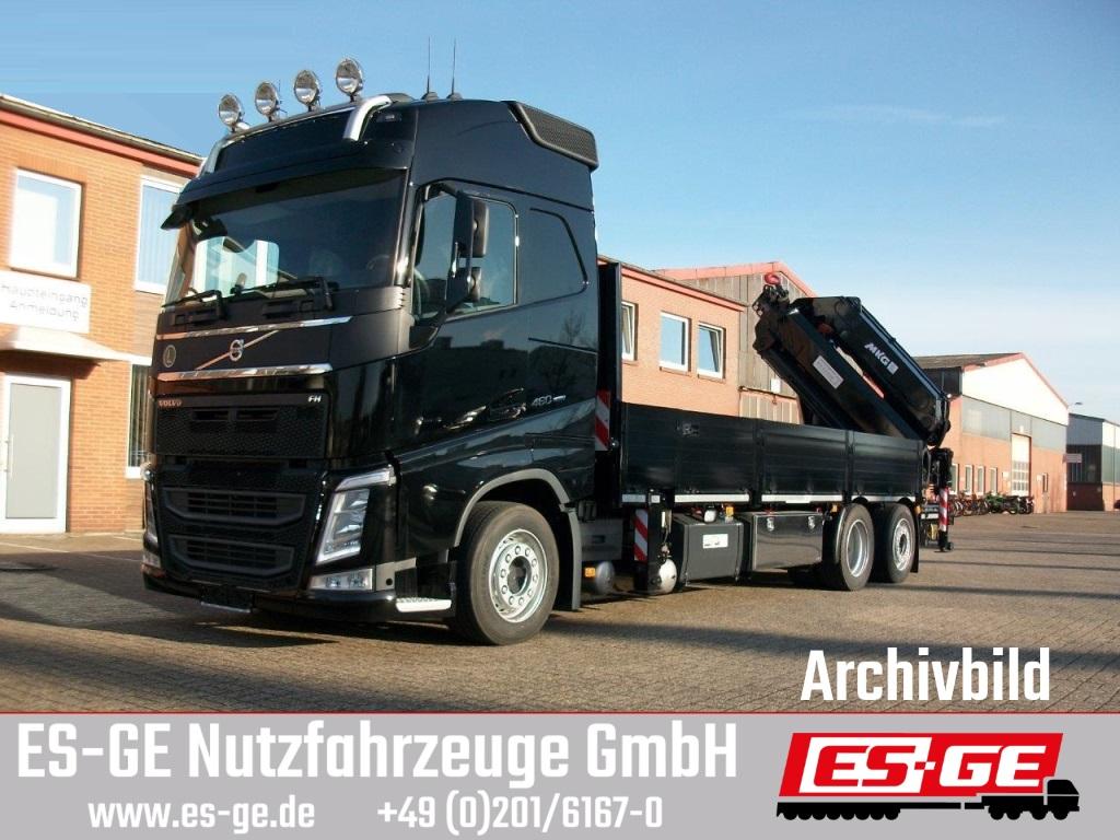 Volvo FH 460 CHH-LOW 6x2 mit MKG Ladekran HLK 531HP a5