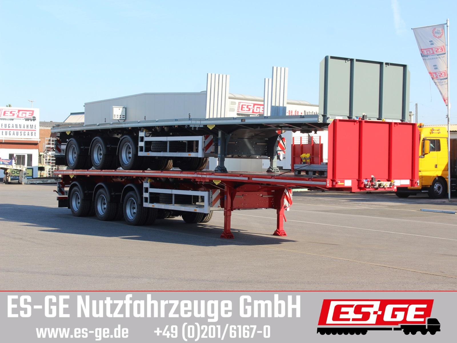 Broshuis 3-Achs-Sattelauflieger - 3fach tele
