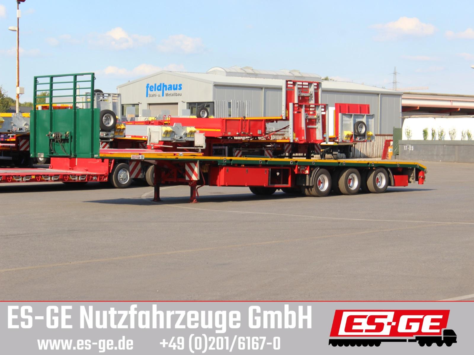 ES-GE 3-Achs-Megatrailer - teleskopierbar