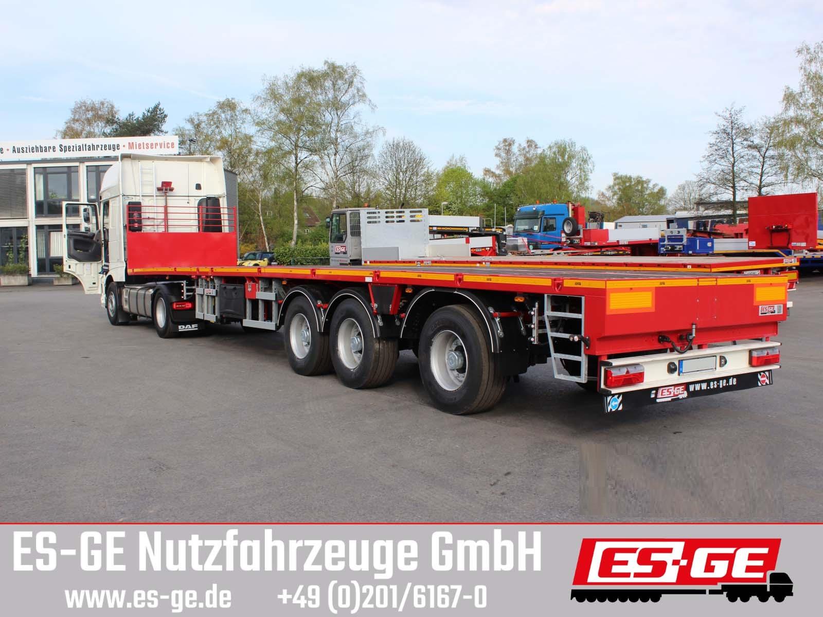 ES-GE 3-Achs-Sattelauflieger - teleskopierbar