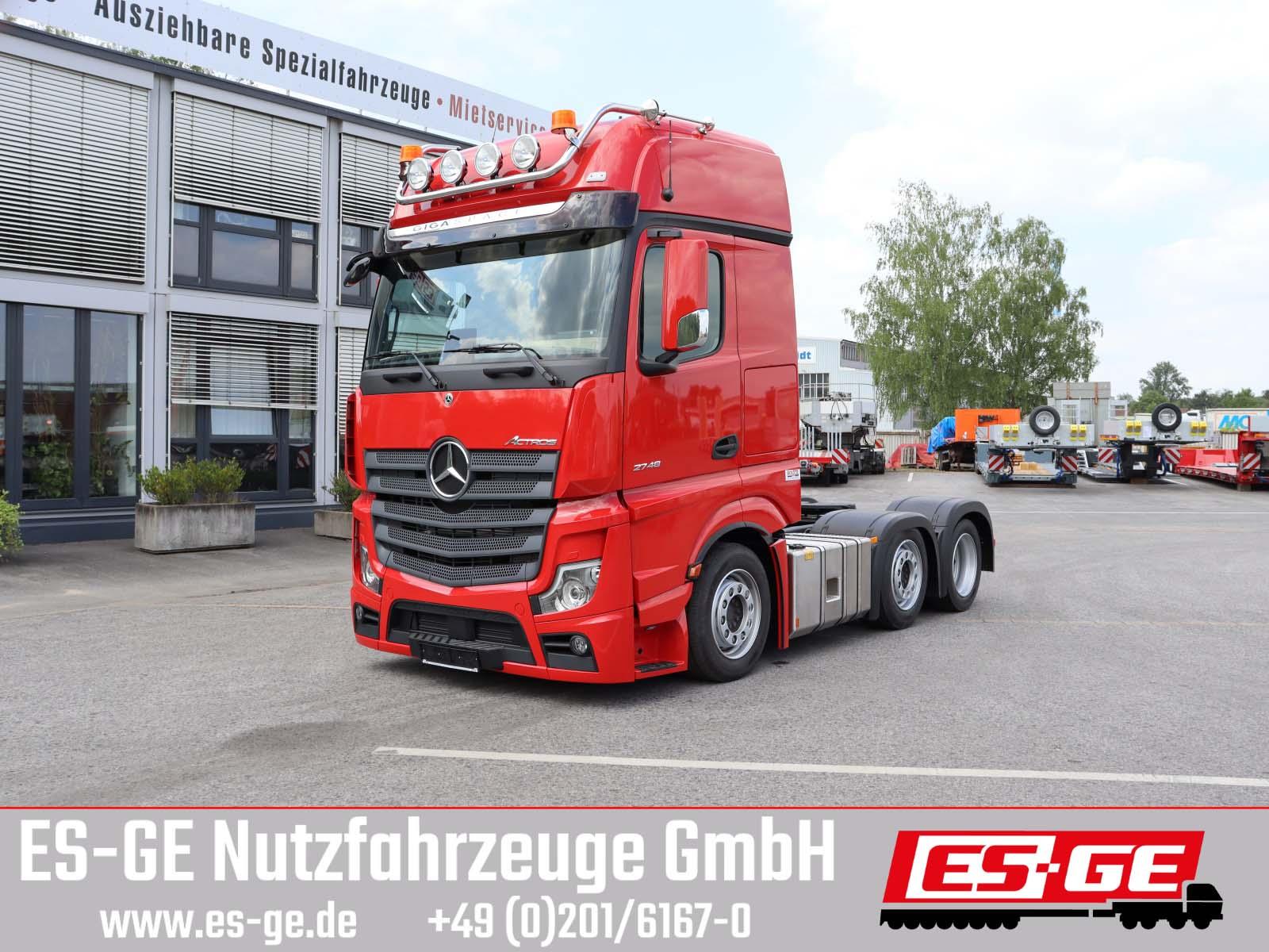 Mercedes-Benz Actros 5 6x2/4 Lowliner