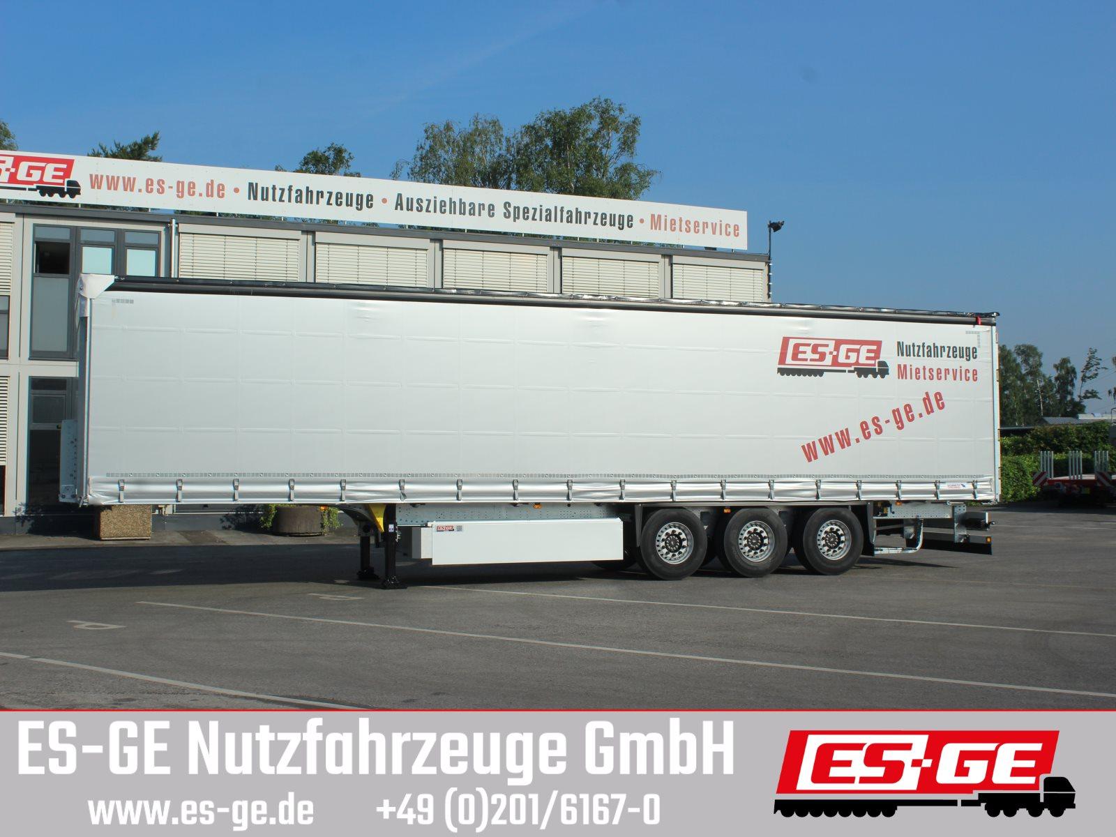 Schmitz 3-Achs-Sattelanhänger, Cutainsider Universal
