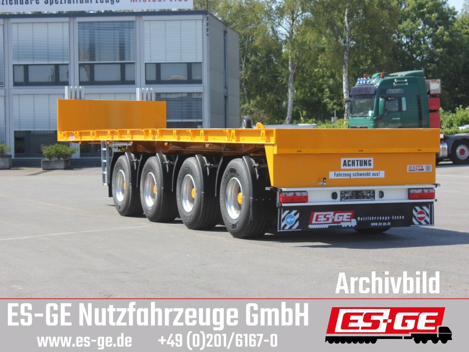 ES-GE 4-Achs-Ballastauflieger
