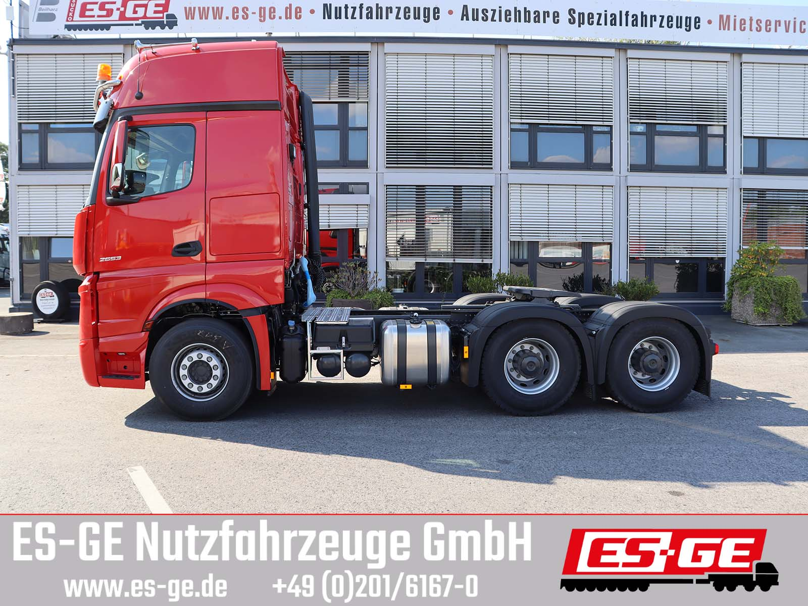 Mercedes-Benz 2653 LS 6x4 Actros 5