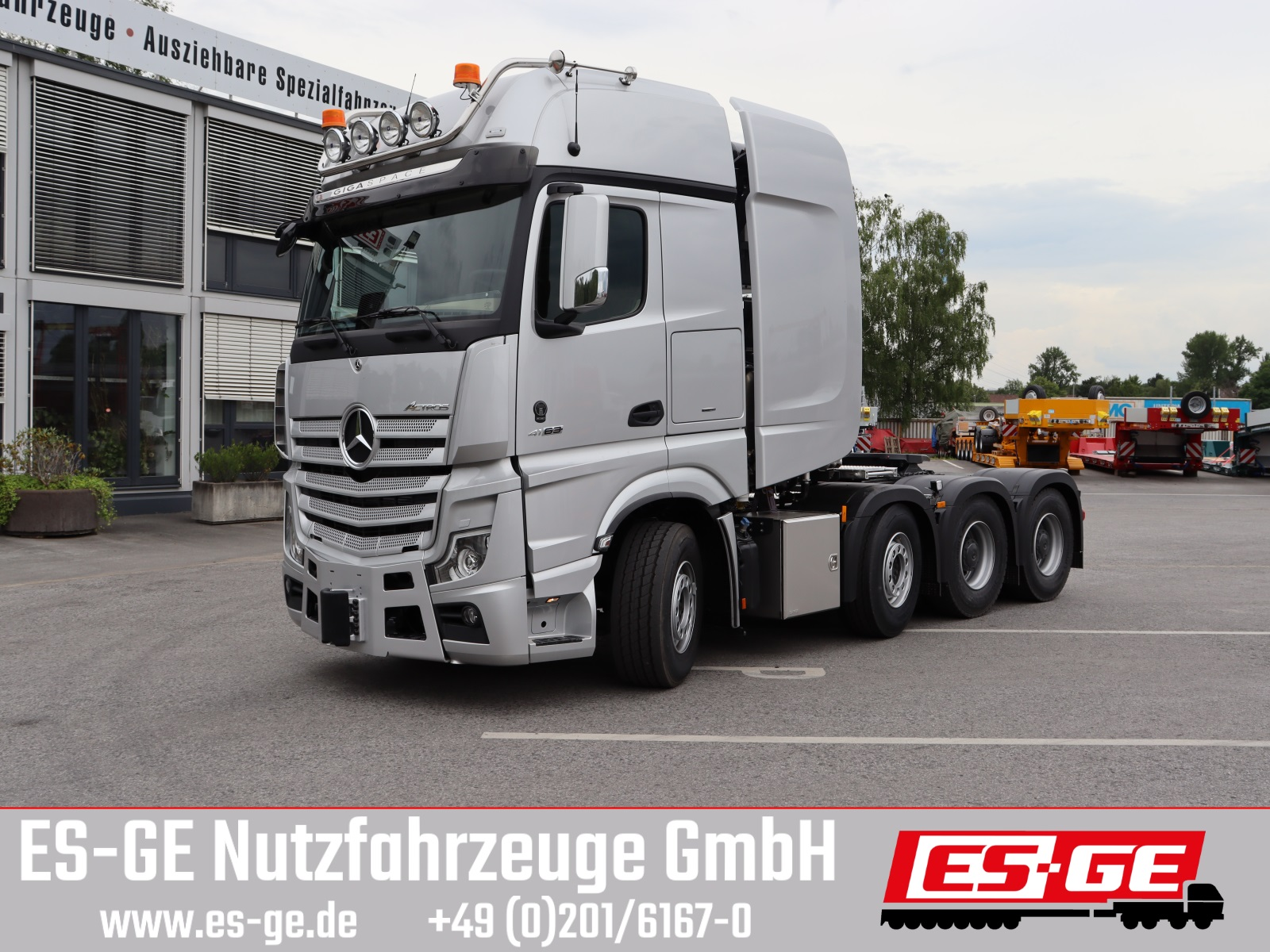 Mercedes-Benz Actros 4163 LS 8x4 (250 t ZGG)