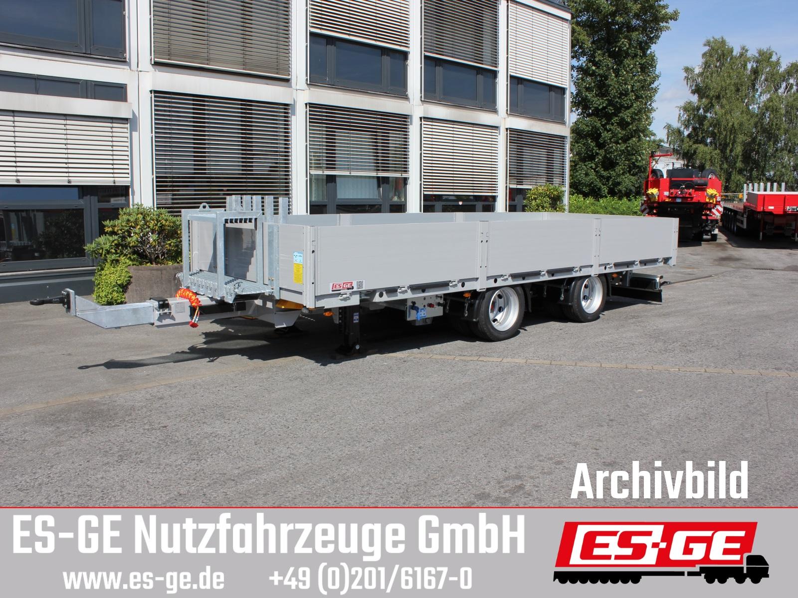 ES-GE ES-GE Tandemanhänger - Bordwände - Containerverr.